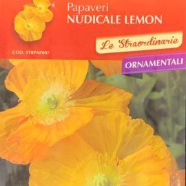 Papaveri Nudicale Lemon Perenne